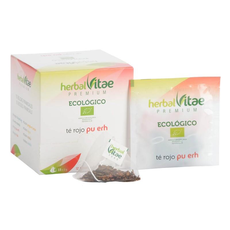Infusión Herbal Vitae ECO TE ROJO Pu Erh 15 uds