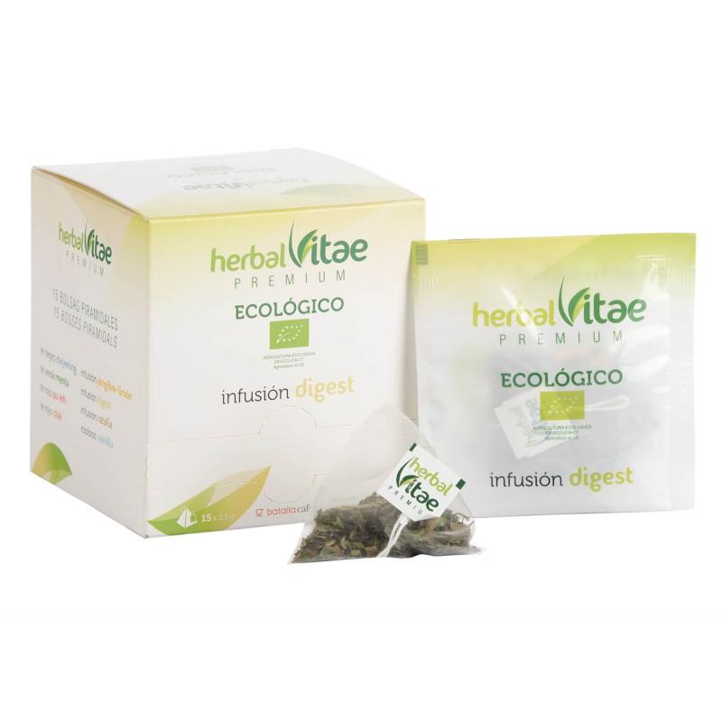 Infusión Ecológica Herbal Vitae Digestiva pirámides 15u.