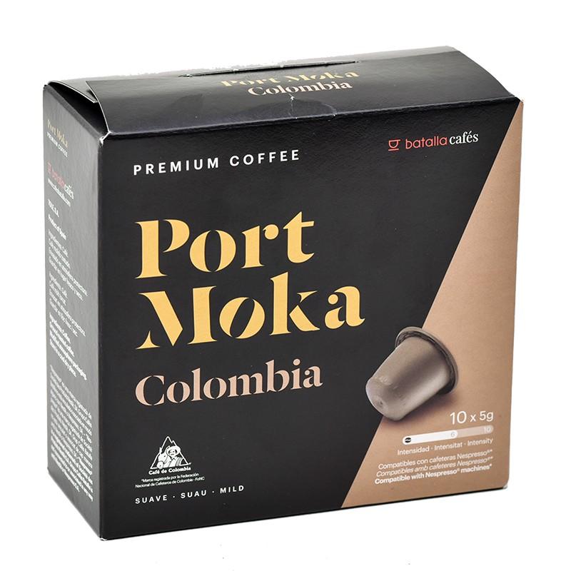 Cápsulas compostables Café Nespresso Colombia 10uds